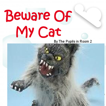 Beware Of My Cat