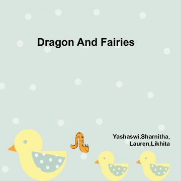 Dragon  And Fairies