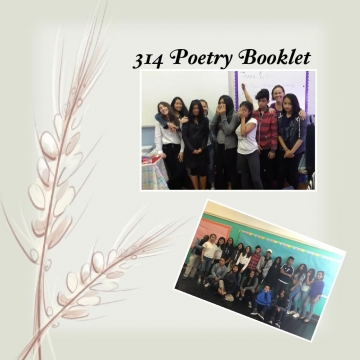 314 Poetry Booklet