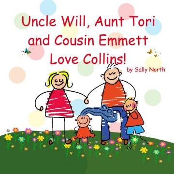 Uncle Will, Aunt Tori and Cousin Emmett Love Collins