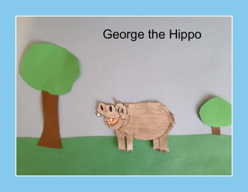 George the Hippo