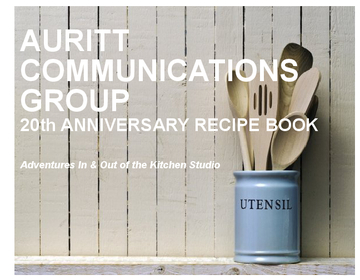 Auritt Communications Group 20th Anniversary Recipe Book