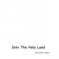 Into the Holy Land