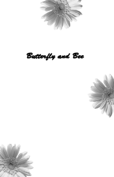 Butterfly and Bee