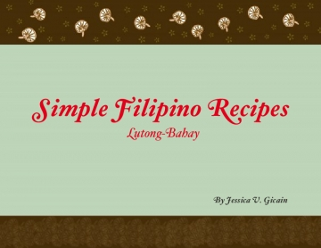Simple Filipino Recipes