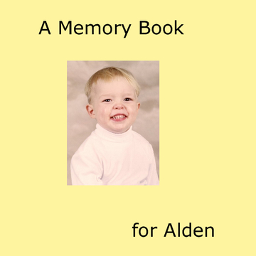 A Memory Book for Alden