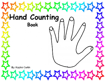 Hand Counting Book
