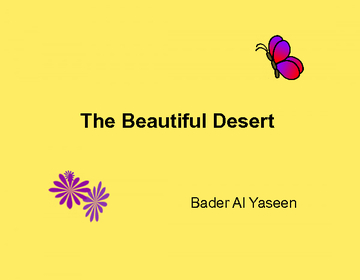 The Beautiful Desert