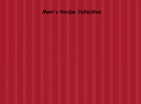 Mom's Recipe Collection