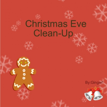 Christmas Eve clean-up