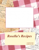 Rosella's Recipes