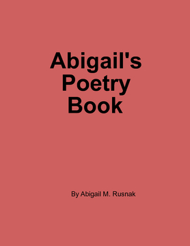 Abigail's Poetry Book