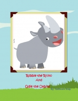 Robbie the Rhino and Odie Oxpecker