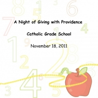 A Night of Giving with Providence Catholic Grade School