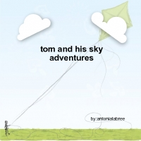 tom and his magical kite