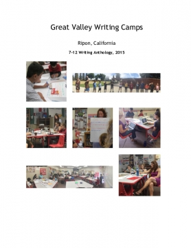 Great Valley Writing Camps, 2015 Anthology