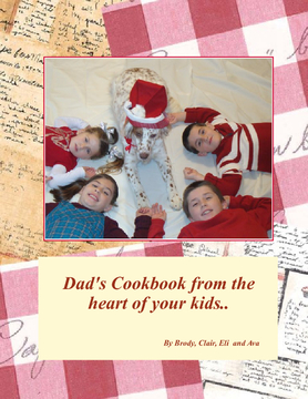 Dad's Cookbook from the Heart of Your Kids