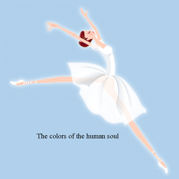 The colors of the human soul