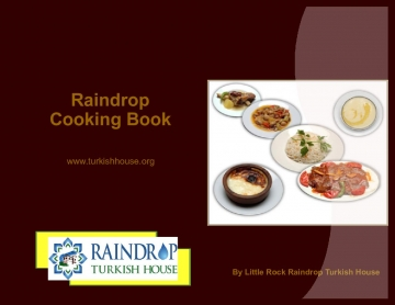 Little Rock Raindrop Turkish House Cooking Book