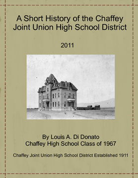 A Short History of the Chaffey Joint Union High School District