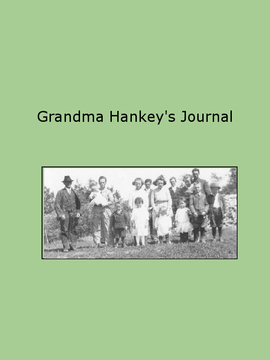Grandma Hankey's Journal