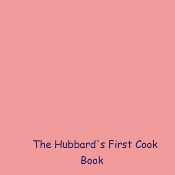 Our First Cookbook