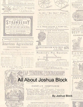 All About Joshua Block