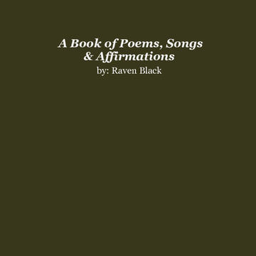 Book of Poetry by R Black