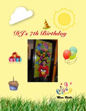 DJ's 7th Birthday