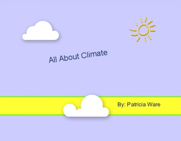 All about Climate