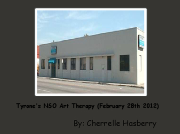Tyrone's NSO Art Therapy (February 28th 2012)