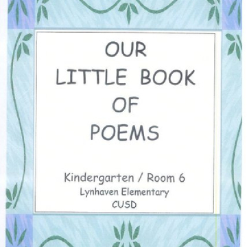 Our Little Book of Poems