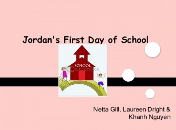 Jordan's First Day of School