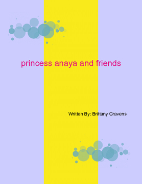 Princess Anaya and friends