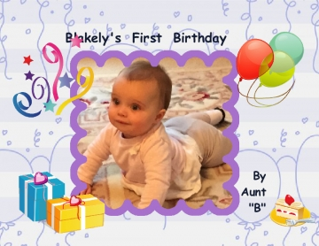 Blakely's First Birthday