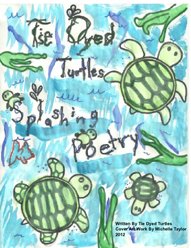 Tie Dyed Turtle Poetry Book