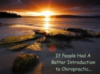 If People Had A Better Introduction to Chiropractic