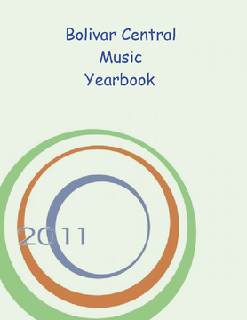 BCHS Yearbook 2010-2011