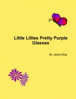 Little Lillies Pretty Purple Glasses