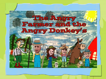 The Angry Farmer and The Angry Donkey's