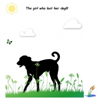 the girl who lost her dog