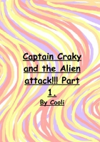 captain cranky and the alien attack