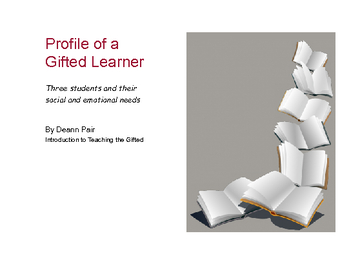 Profile of The Gifted Learner