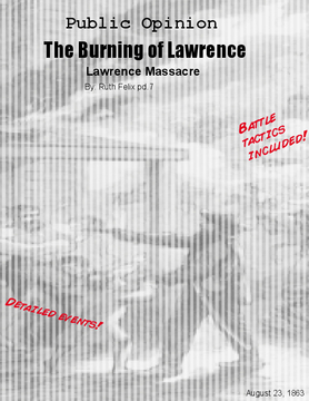 The Burning of Lawrence