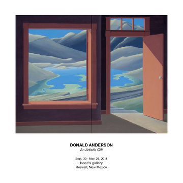 Donald Anderson, An Artist's Gift