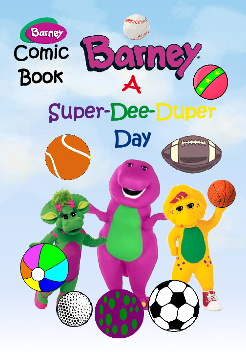 Barney A Super Dee Duper Day Book 510851 Bookemon