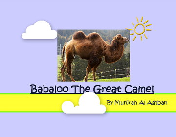 Babaloo The Great Camel