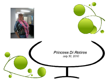 Princess Di Retires