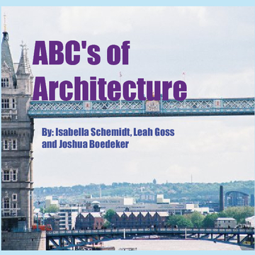 ABC's of Architecture
