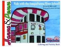 Hanna and Penn Ride with the River School